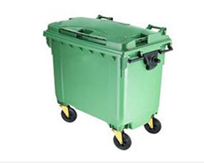 660升塑料大号垃圾桶