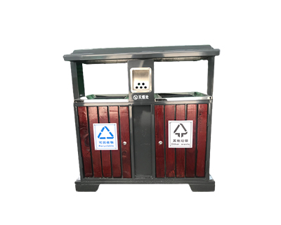 钢木果壳箱